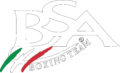 BSA boxing team pavia